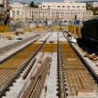 Stock Photo: Jerusalem tram line
