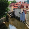 Prague river Vltava — Stock Photo