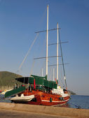 Seaport Marmaris Turkey — Stock Photo