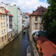 Prague river Vltava — Stockfoto
