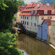 Prague river Vltava — Foto Stock