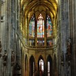 Church Saint Vitus Cathedral in Prague — Stock Photo