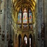 Church Saint Vitus Cathedral in Prague — Stock Photo
