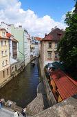 Prag nehri vltava — Stok fotoğraf