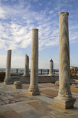 Caesarea museum under opened by sky — Stock Photo