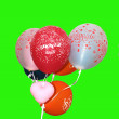 Royalty-Free Stock Photo: Balloons Happy Birthday