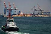Port in Haifa — Stock Photo