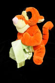 Tiger soft plush toy — Stock Photo