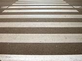 Pedestrian crossing. — Stock Photo