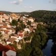 Veliko Tarnovo, medieval town Bulgaria — Stock Photo
