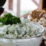 Cucumber salad — Stock Photo #2385910