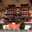 Buddha Tooth Relic Temple in Singapore — Stock Photo #2385930