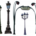 pouliční lampa — Stock fotografie