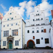 Houses in old town, Riga — Stock Photo