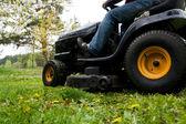Sekačka na trávu — Stock fotografie