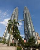 Petronas towers i kuala lumpur — Stockfoto