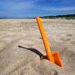 Beach spade — Stock Photo
