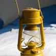 Old kerosene lamp — Stock Photo