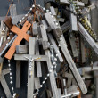 The Hill of Crosses in Lithuania — Stock Photo #2511526