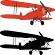 Old airplane — Stock Vector #2659736
