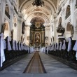 Interior of church — Foto Stock
