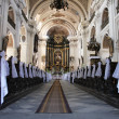 Interior of church — Stock Photo #2520536