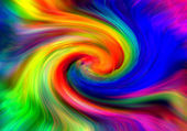 Color twirl — Stock Photo