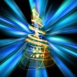 Stock Photo: Xmas tree