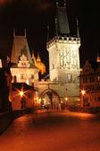 Prague in the night — Stock Photo