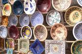 Ceramics from tunisia — Stock Photo