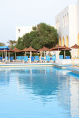 Hotel in tunisa — Stock Photo