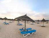 Tunisia beach — Stock Photo