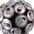 Royalty-Free Stock Photo: Epmty cans