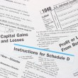 IRS Federal IncomeTax Forms - Foto de Stock