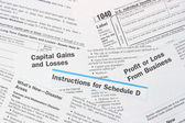IRS Federal IncomeTax Forms — Stock Photo