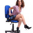 Office girl — Stock fotografie