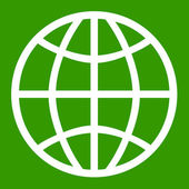 Planet Earth symbol — Stock Photo