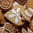 Christmas gingerbreads - Stock Photo