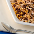 Muesli with decoration - Stock Photo