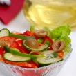 Freah vegetable salad - Stock Photo
