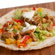 Preparing food - Gyros — Stock Photo