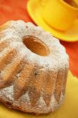 Home made angel cake — Stock Photo