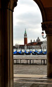 Gondolas of Venice — Stock Photo