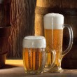 Two beers — Stockfoto