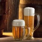 2 つのビール — ストック写真