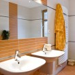 Interior of bathroom — Stock Photo #2448827