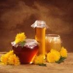 Still life with honey — Stock Photo #2510544