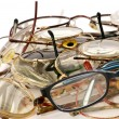 Many glasses Many colors — Stock Photo #2393505