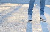 Skater's legs — Stock Photo
