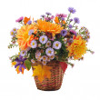 Bouquet of autumn flowers — Foto Stock